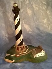 "VTG'92 DANBURY MINT""CAPE HATTERAS LIGHT""LIGHTHOUSE FIGURINE.PERFECT COND.8 1/2""H"