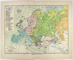 Original-1889-People-and-Language-Map-of-Europe-by-Meyers