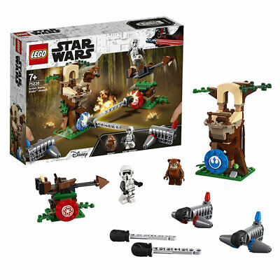 LEGO Star Wars 75238 Action Battle Endor Assault Age 7+ 193pcs