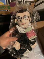 "RUTH BADER GINSBURG Little Thinker Big 12/"" Plush Doll Supreme Court Judge New"