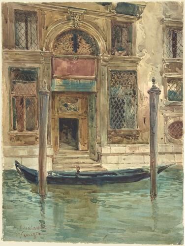 Daniele Bucciarelli Reproduction Fine Art Print Portal of a Venetian Palace