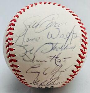 1986 San Diego Padres Team Signed Baseball Steve Garvey Bochy McReynolds Roberts