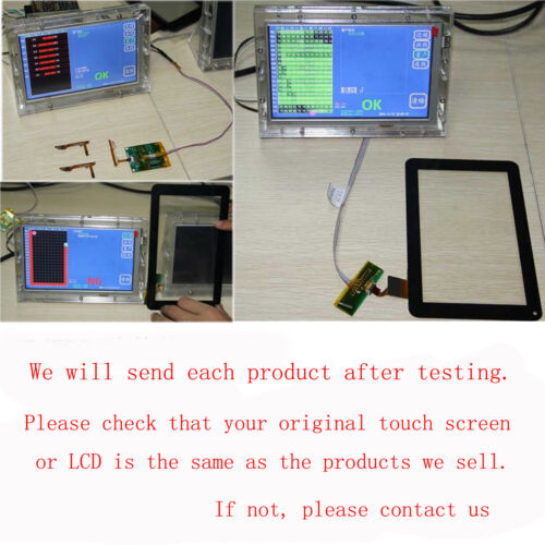 """New touch screen digitizer replacement for 7/"""" ALBA Alba7Nou"""