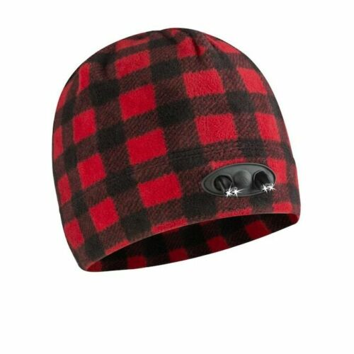 panther vision POWERCAP 35//55 Fleece Beanie Hat Ultra-bright LED Lights 6 COLORS