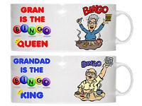 BINGO CERAMIC STRAIGHT  NOVELTY MUG - PERSONALISED FREE - IDEAL BIRTHDAY GIFT