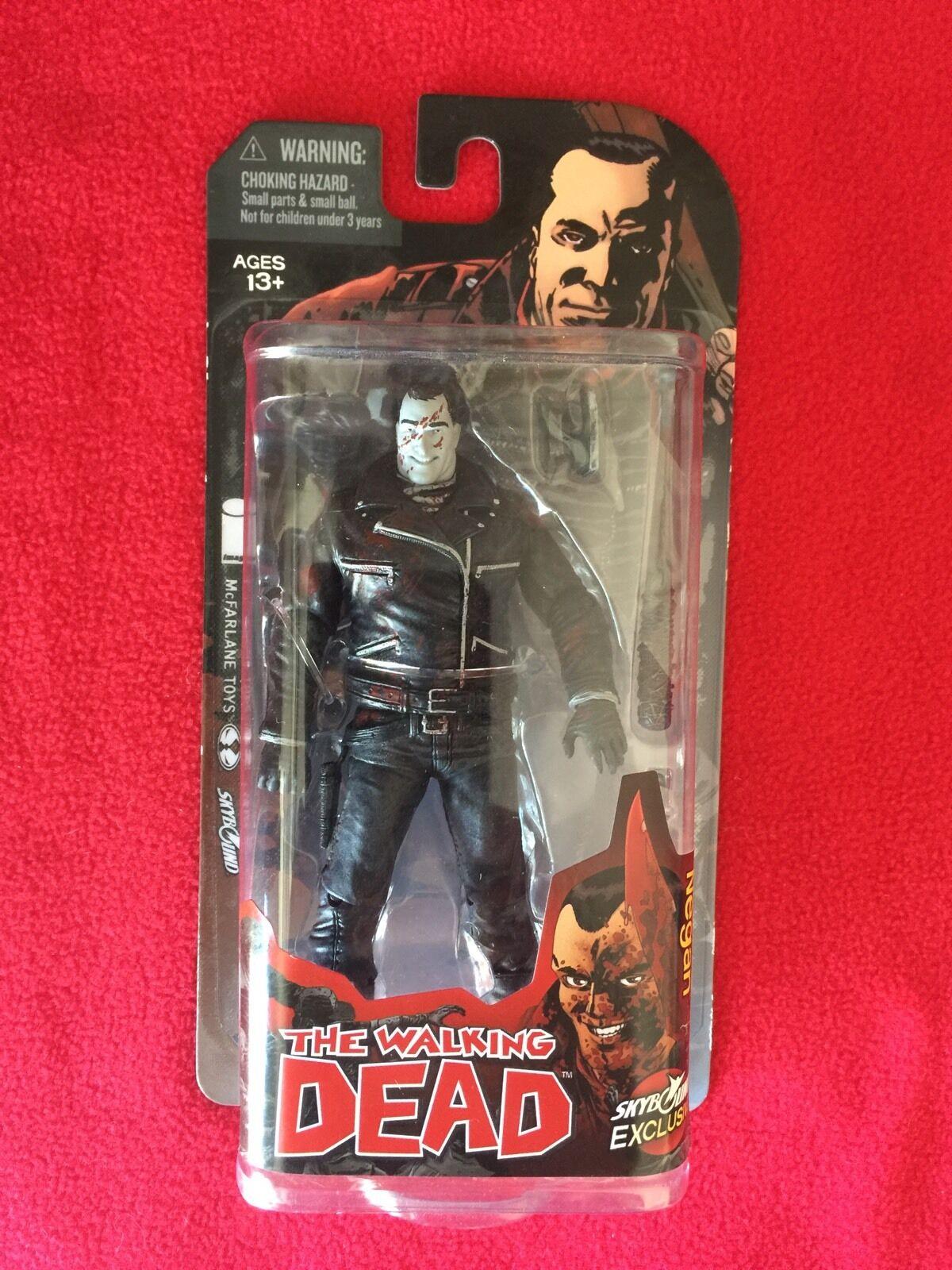 The Walking Dead NEGAN Skybound figure B&W NEW IN BOX McFarlane Toys Nice