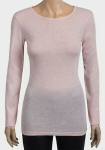Womens-DOROTHY-PERKINS-Pink-Marl-Long-Sleeve-Top-Size-8-10-12-14-16-18-20