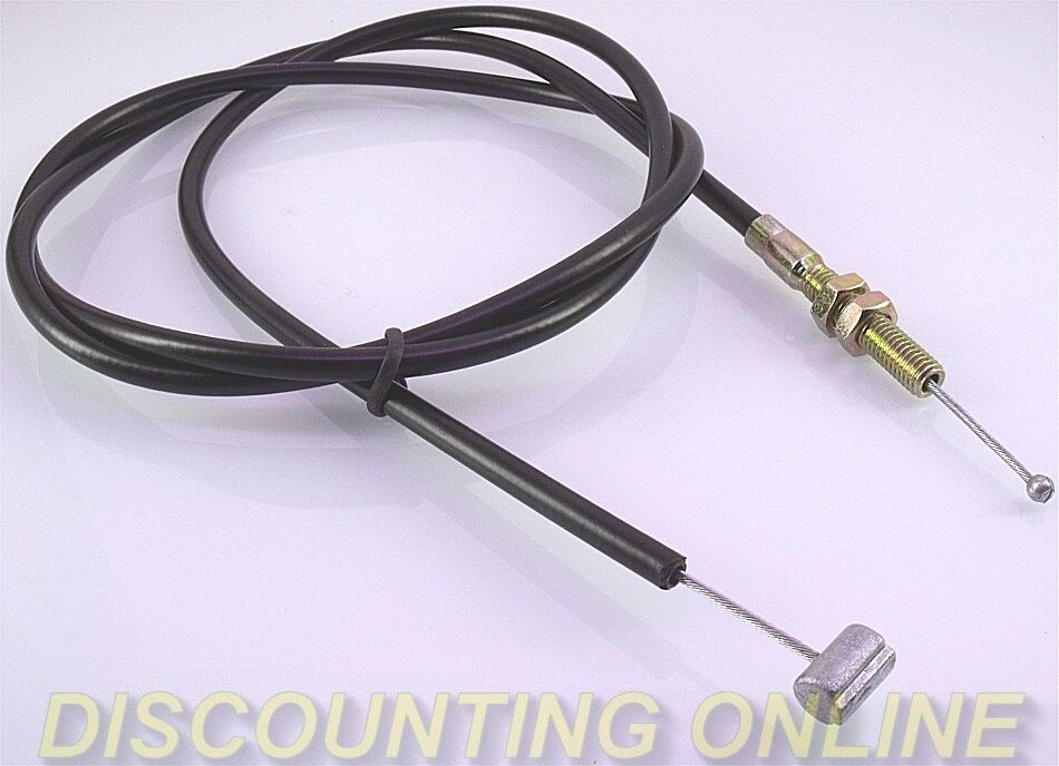"""NEW GO CART MINI BIKE 56/"""" BRAKE THROTTLE CABLE BARREL /& BALL ENDS SMOOTH ACTION"""