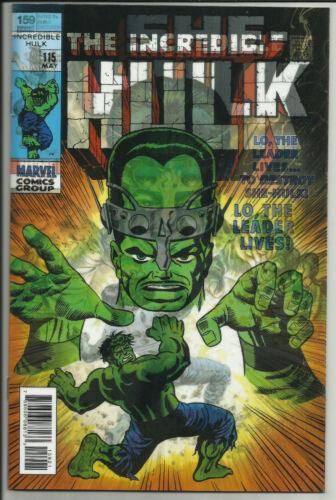 She-Hulk #159 Lenticular Variant Incredible Hulk Homage Marvel Legacy 2017