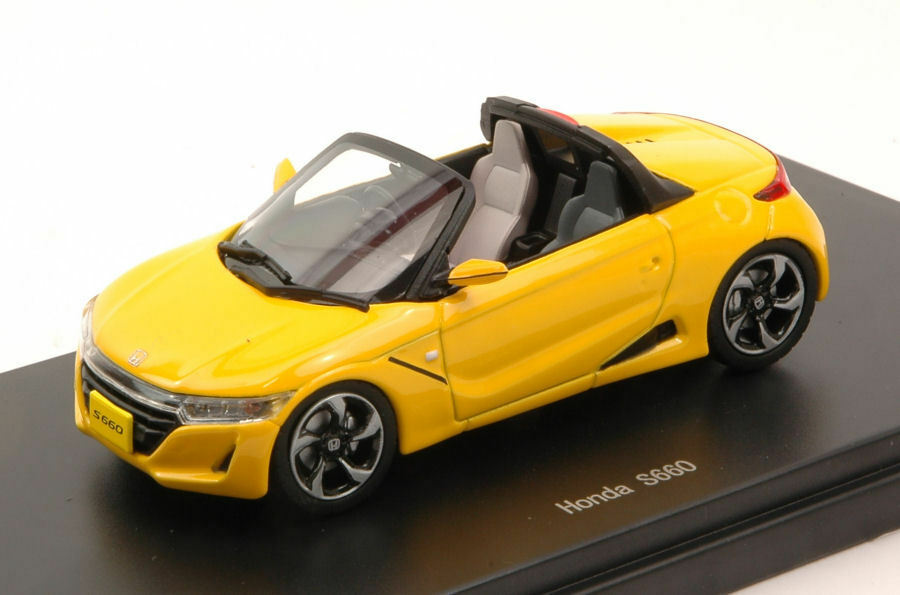 Honda S660 2018 Amarillo 1:43 Model 45358 EBBRO