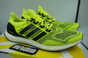 fa24c2fbd59 Image is loading Adidas-Ultra-Boost-1-0-Volt-Solar-Yellow-