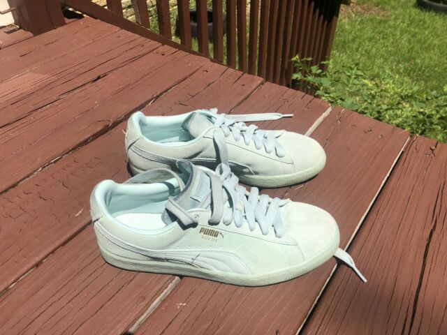 PUMA Suede Classic Ice Mix Sneakers Blue Mens