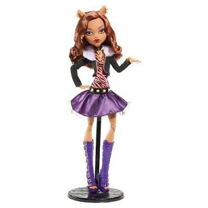 Monster High 17in Large Clawdeen Wolf Doll Dolls