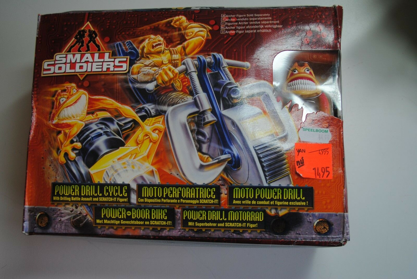 SMALL SOLDIERS 1998  POWER DRILL CYCLE CYCLE CYCLE      BOXED PLAYSET c8a64d