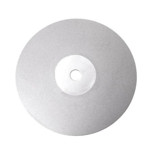 "4/"" 100mm Diamond Coated Flat Lap Disc Jewelry Polish Grinding Wheel 80~3000#"