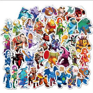 50Pcs-Game-Dota2-Sticker-For-Skateboard-Phone-Luggage-Laptop-Decals