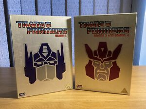 Transformers RID Animated Kids Series 1 3 & 4 DVD Box Sets | Good Condition