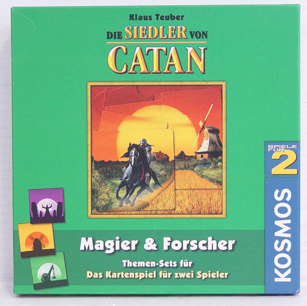 Mago & ricercatori themenset per il gioco delle carte-I Coloni di Catan, NUOVO, KA