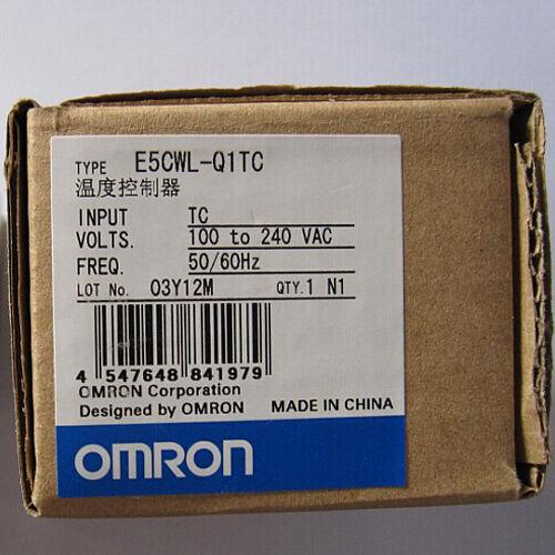Digital Omron Temperature Controller E5CWL-Q1TC 100-240VAC Temperature Relay Ne