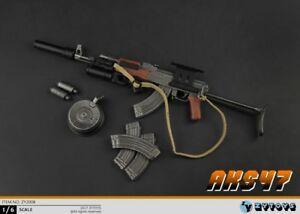 ZYTOYS-1-6-AK47-AK47S-Silencer-Gun-Model-Weapon-Toys-W-Folding-Bracket