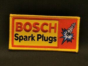 XL-BOSCH-Zuendkerzen-Spark-Plugs-Buegel-o-Aufnaeher-Rennsport-Retro