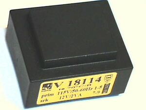 Ringkern-Transformator 230V RKT30//2X12 Trafo offen 30VA 2x12V 2x1250mA 857090