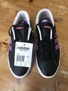 Nouveau-Adidas-Neo-Daily-Qt-Femmes-Baskets-UK-4-5-Noir