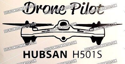 "Drone Xplorer V /""DRONE PILOT/"" decal sticker UAV car window die cut vinyl"