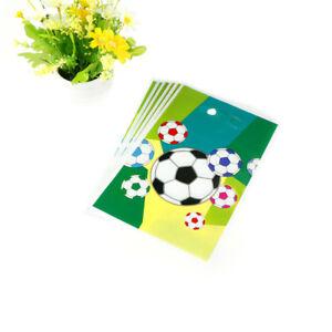 6x-Fussball-Thema-Geschenktuete-Geburtstagsparty-Dekoration-liefert-YT