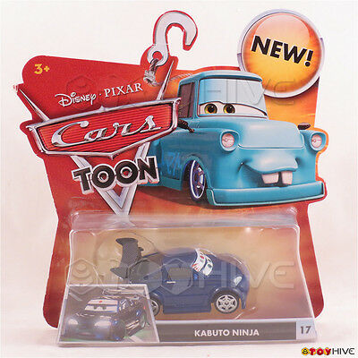Kabuto Disney Cars Toon Diecast Combined Postage Tv Movie Character Toys