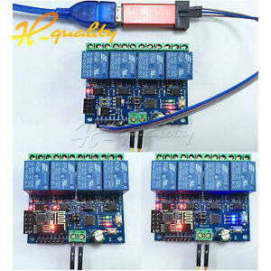 Details about 4-Channel 12V ESP8266 Relay Remote Control Switch APP for  Smart Home