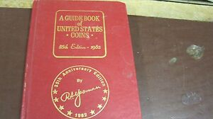 R-S-YEOMAN-RED-BOOK-COINS-35th-EDITION-1982-HC