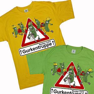 Gurkentruppe-Fun-T-Shirt-Baumeister-Gurke-Cucumber-Crew-men-pepinos-de-tropas