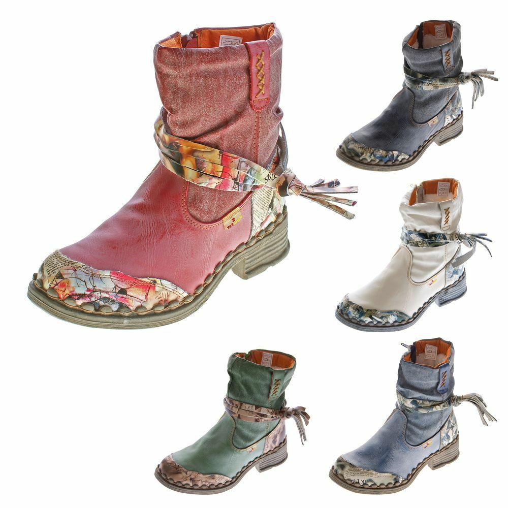 Damas invierno botín piel de confort botas tobillo zapatos TMA 5050 forrado