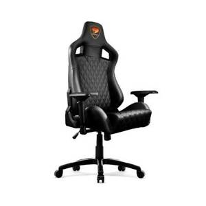 Amazing Details About Cougar Armor S Black Luxury Gaming Chair With Breathable Premium Pvc Leather Pdpeps Interior Chair Design Pdpepsorg