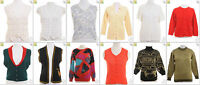JOB LOT OF 26 VINTAGE MIXED KNITS - Mix of Era's, styles and sizes (17852)