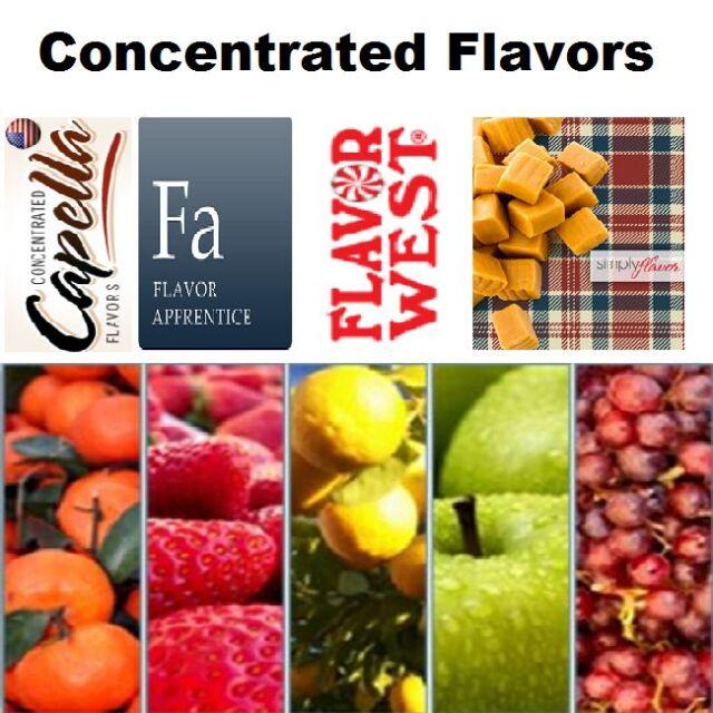10 PACK DIY Flavor Concentrate DIY Liquid Flavor Pick Your 10ml Flavors