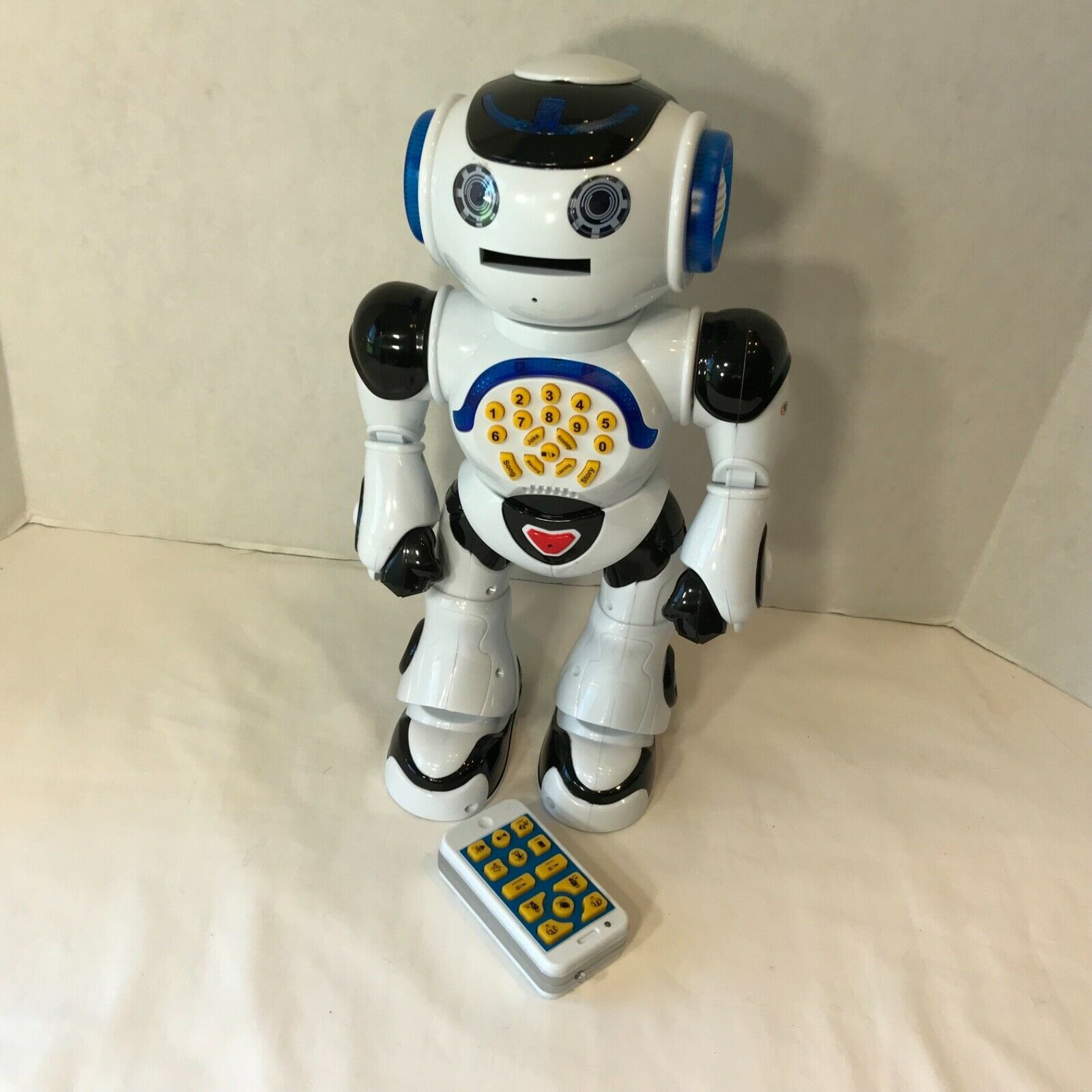 TopRace Smart Robot P 2 Walks,Talks,Jokes,Records,Knoledge,learns Dial 16 Inches Inches Inches 69c09a