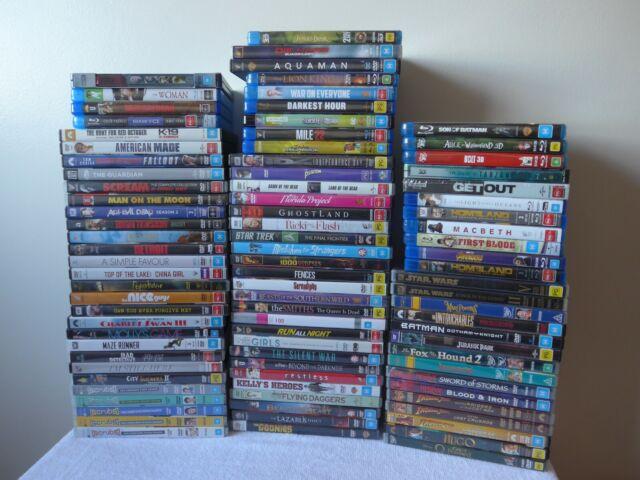 ⭐ WINTER SALE *87* Movies & TV shows on DVD/Blu-ray, all VGC - Dropdown menu ⭐