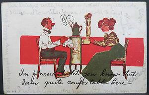 Pueblo-Laveta-1907-Rec-039-D-Series-1902-Duplex-US-Postcard-Ak-Postcard-Lot-A3783
