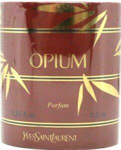 YVES SAINT LAURENT OPIUM PURE PARFUM SPLASH 0.25 Oz / 7.5 ml BRAND NEW ITEM!!!