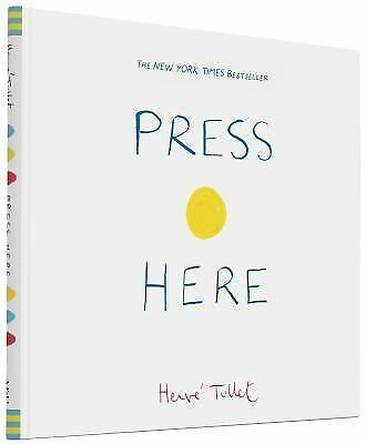 Press Here by Hervé Tullet (2011, Hardcover)