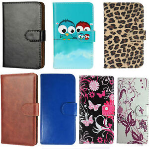 best service 0a141 a52de Details about Slim Premium Mobile Phone Flip Case - Motorola Moto E3 Power  - 360 PU Leather M
