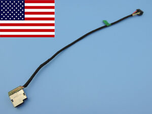 HP-ENVY-TOUCHSMART-17-J141NR-Direct-Current-POWER-JACK-CABLE-HARNESS-CHARGE-IN-PORT-8PIN