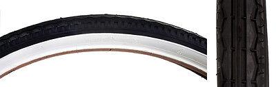 26 x 1.75 Cruiser Balloon Bike Bicycle Tire White Wall BE59150