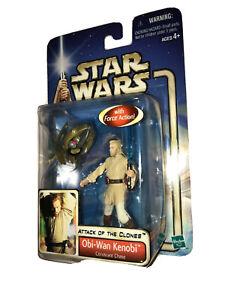 Obi-Wan Kenobi Coruscant Chase 2002 STAR WARS The Saga Collection MOC #03 3
