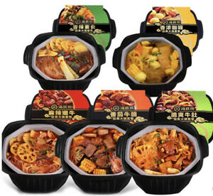 Famous-Haidilao-Instant-Mini-Hotpot-Meal-Kit-Beef-Sausage-amp-Vegetable-flavors