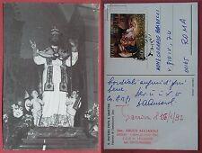 Casalbuono 1991: S. Antero Papa e Martire - Autografo Sac. Argeo Acciaroli