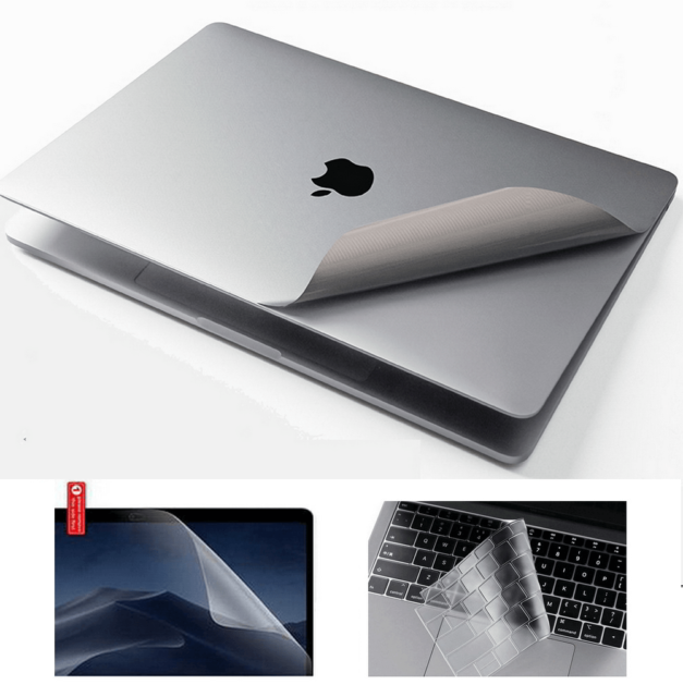 For MacBook Air Pro 13 15 16 Laptops 3M Decal Skin Cover Stealth Armor Protector