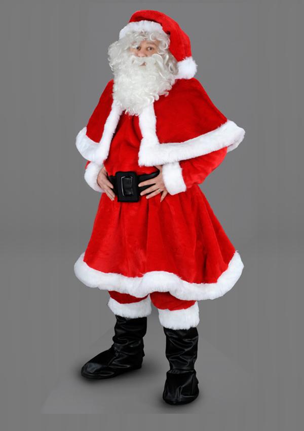 Paketzustellung Weihnachten 2019.Santa Claus Costume Xmas Mascot Profi Père Noël Babbo Natale Mikołaj